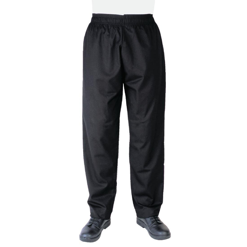 Whites Vegas Chefs Pants Black M