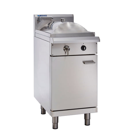 LUUS Asian Traditional Steamer 450mm Single Tray RC-45