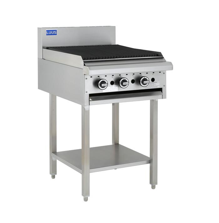 LUUS Essentials GAS BBQ Chargrill 600mm BCH-6C