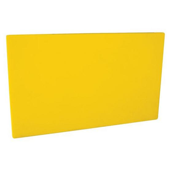 Cutting Board PE HD 530x325x20mm Yellow 48030-Y