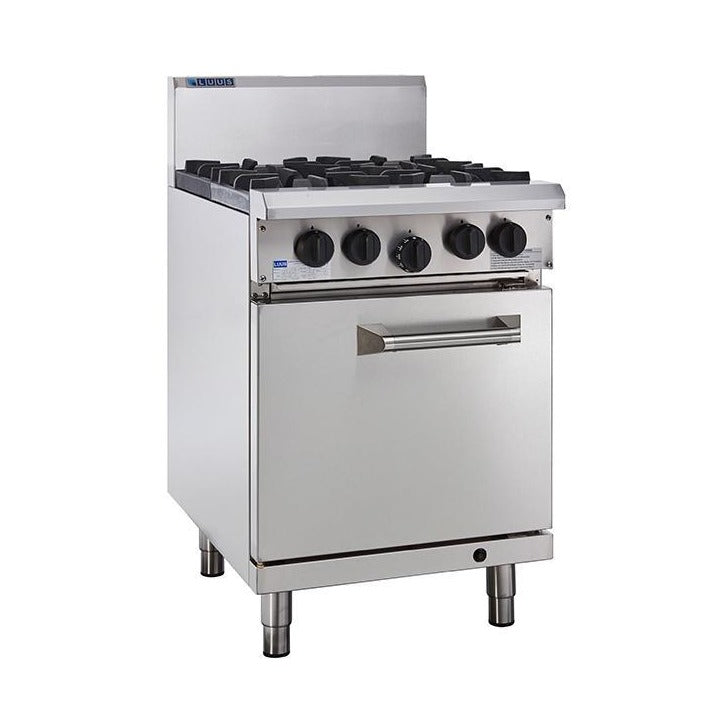 LUUS Professional 4 Burner Static Oven 600mm RS-4B
