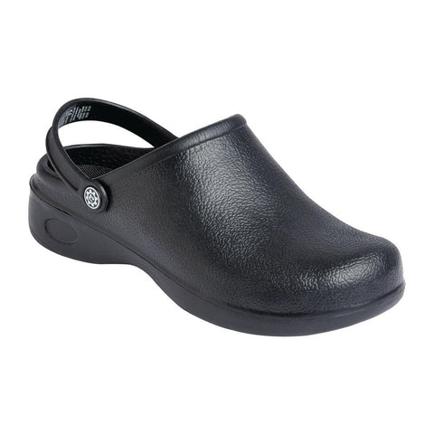 Slipbuster SJ Chef Clog Black 40 - ICE Group Hospitality Warehouse