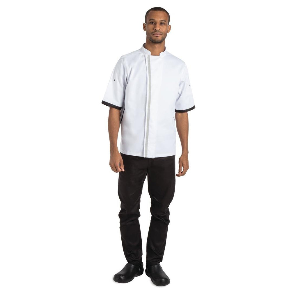 Whites Southside Unisex Chefs Jacket White S - ICE Group