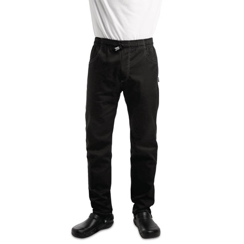Le Chef Unisex Contemporary Slim Fit Chefs Trouser XS