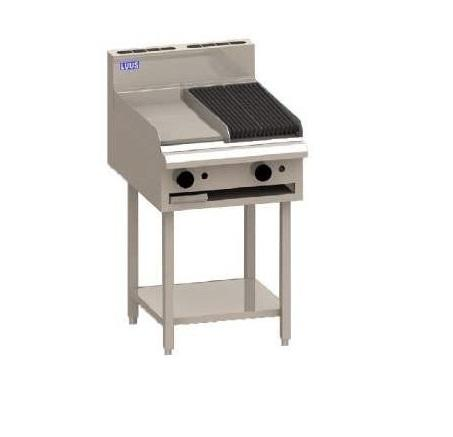LUUS Essentials Griddle Chargrill 600mm BCH-6P6C