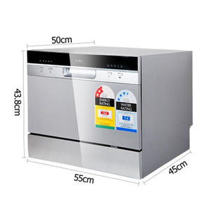 5 Star Chef Electric Benchtop Dishwasher