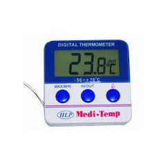 HLP Fridge / Freezer Medical Temp Meter with Alarm -50C to 70C - ICE Group HospitalityWarehouse