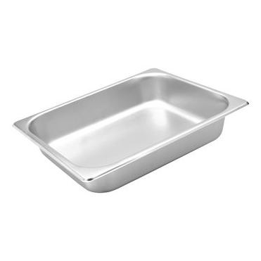 Standard Steam Pan S/S, 1/2 Size 100mm 8712100