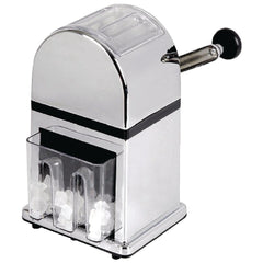 Olympia Manual Ice Crusher Chrome Effect - icegroup hospitality superstore
