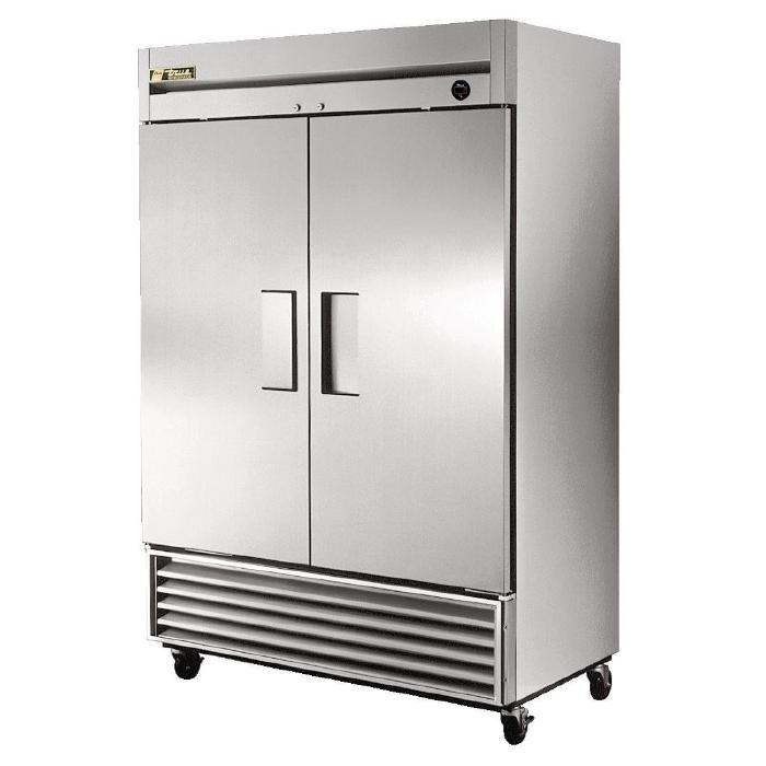 True Upright 2 Door Fridge 1388 Ltr Stainless Steel
