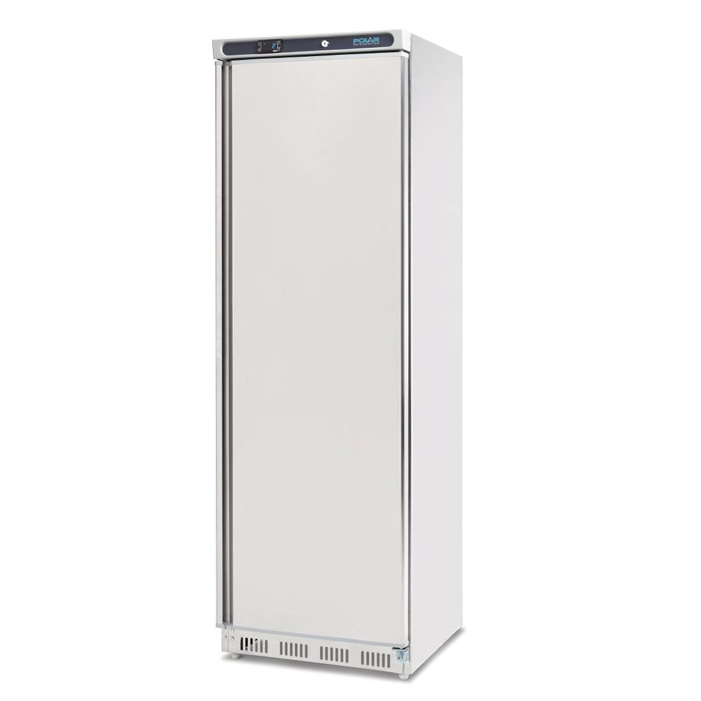 Polar 400L Single Door Fridge Stainless Steel