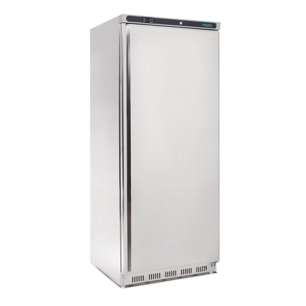 Polar Single Door Fridge 600L Stainless Steel - ICE Group