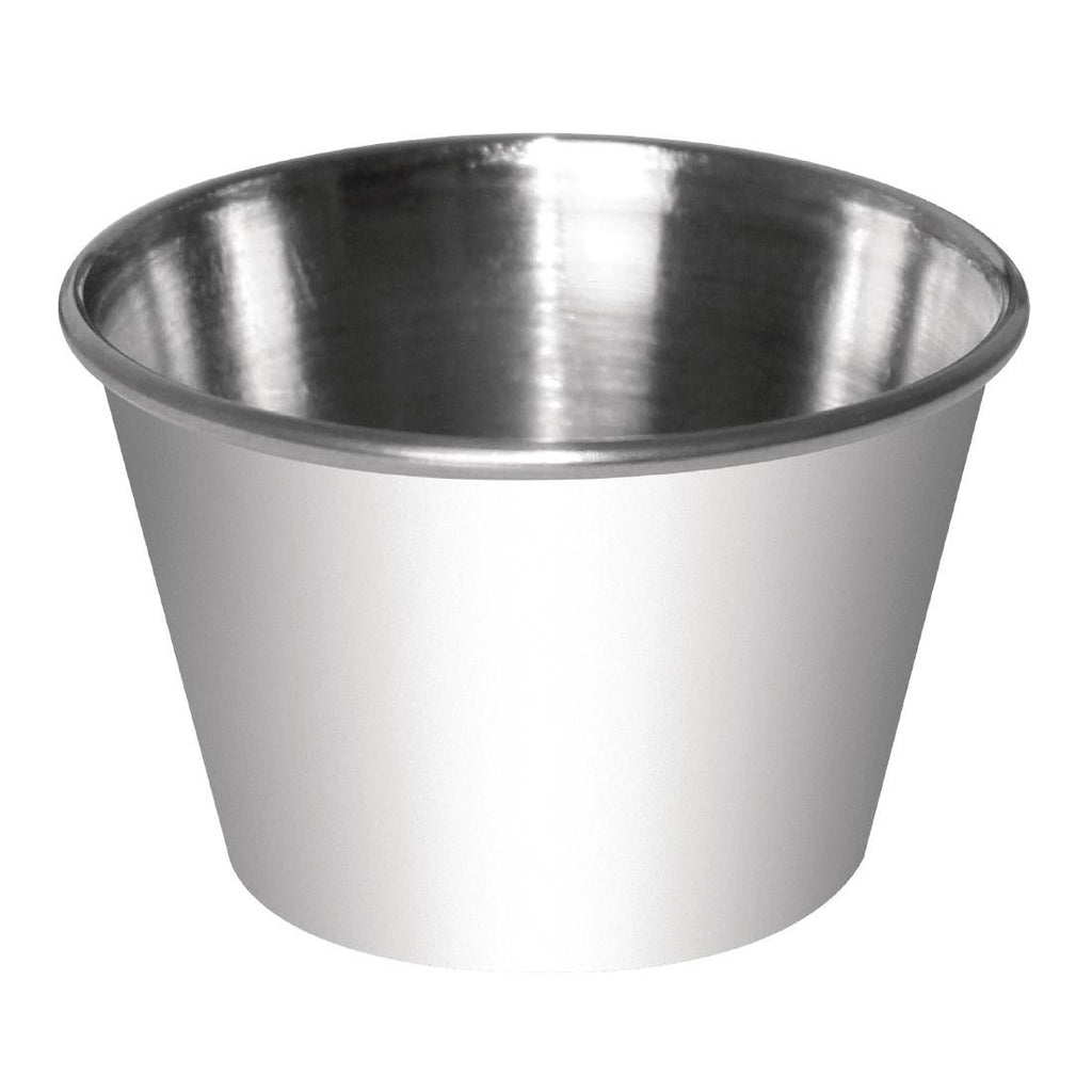 12PCE Dipping Pot Stainless Steel 230ml