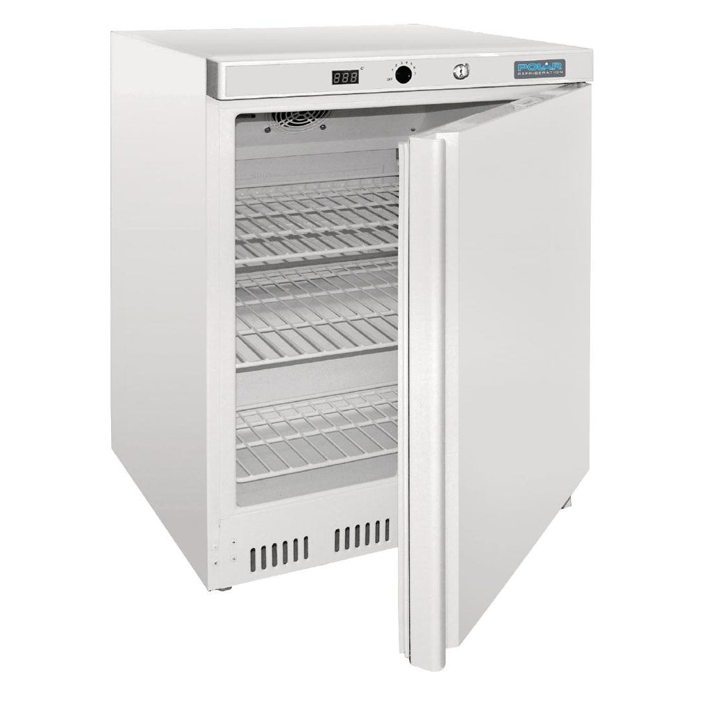 Polar 150L Undercounter Fridge White