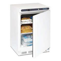 Polar 140L Undercounter Freezer White - ICE Group