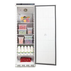 Polar 400L Single Door Light Duty Fridge White - ICE Group