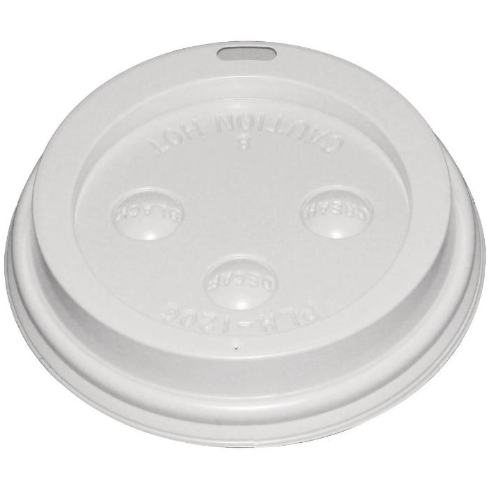 1000PCE Fiesta Lid For 340ml & 450ml Disposable Hot Cups