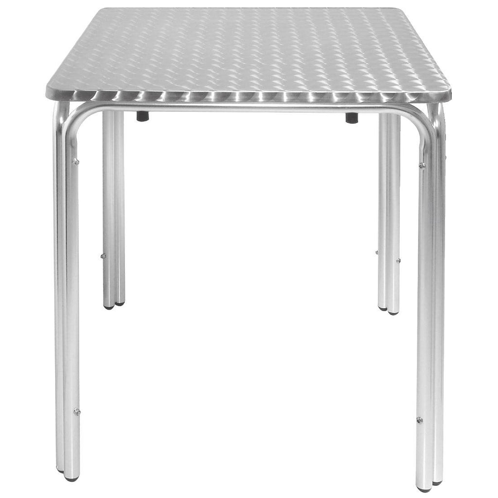 Bolero Square Leg Table 600mm