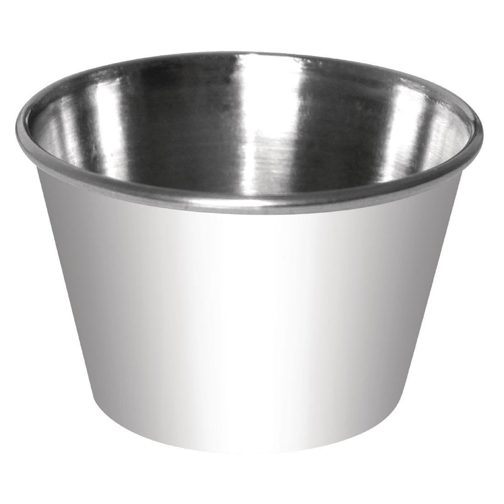 12PCE Dipping Pot Stainless Steel 340ml