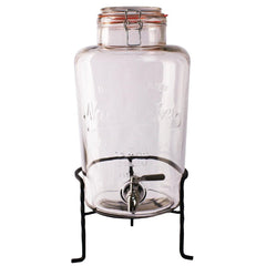 Olympia Nantucket Style Drink Dispenser with Wire Stand - icegroup hospitality superstore