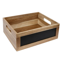 Olympia Bread Crate with Chalkboard 1/2 GN - icegroup hospitality superstore