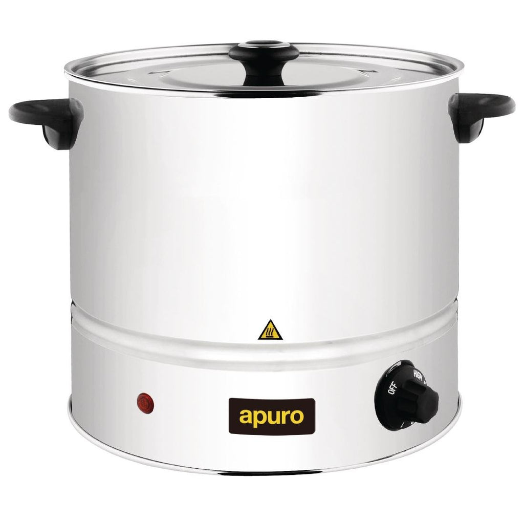Apuro 6L Food Steamer and Basket - ICE Group