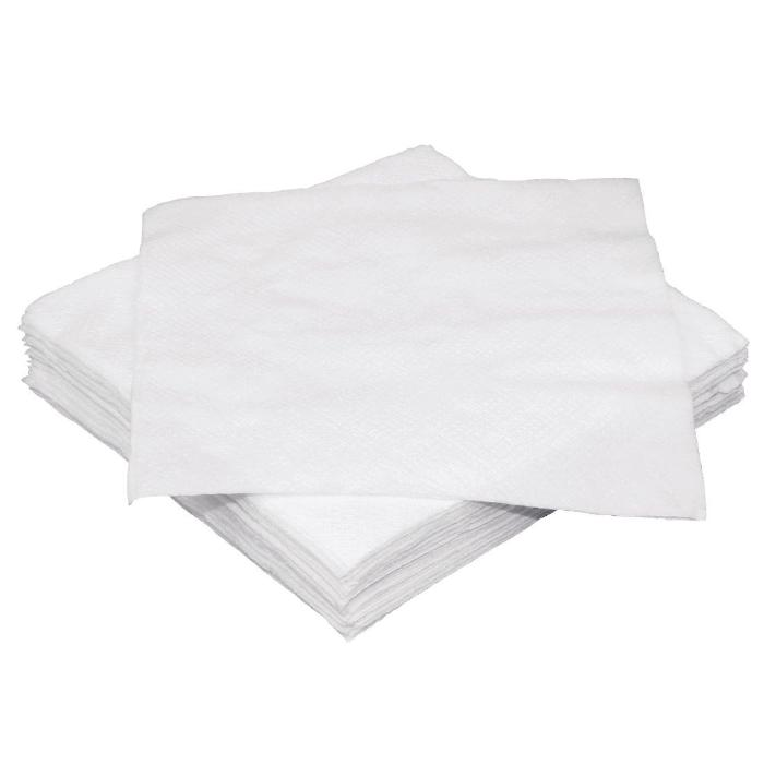 2000PCE Fiesta White Cocktail Napkin 250 x 250 mm