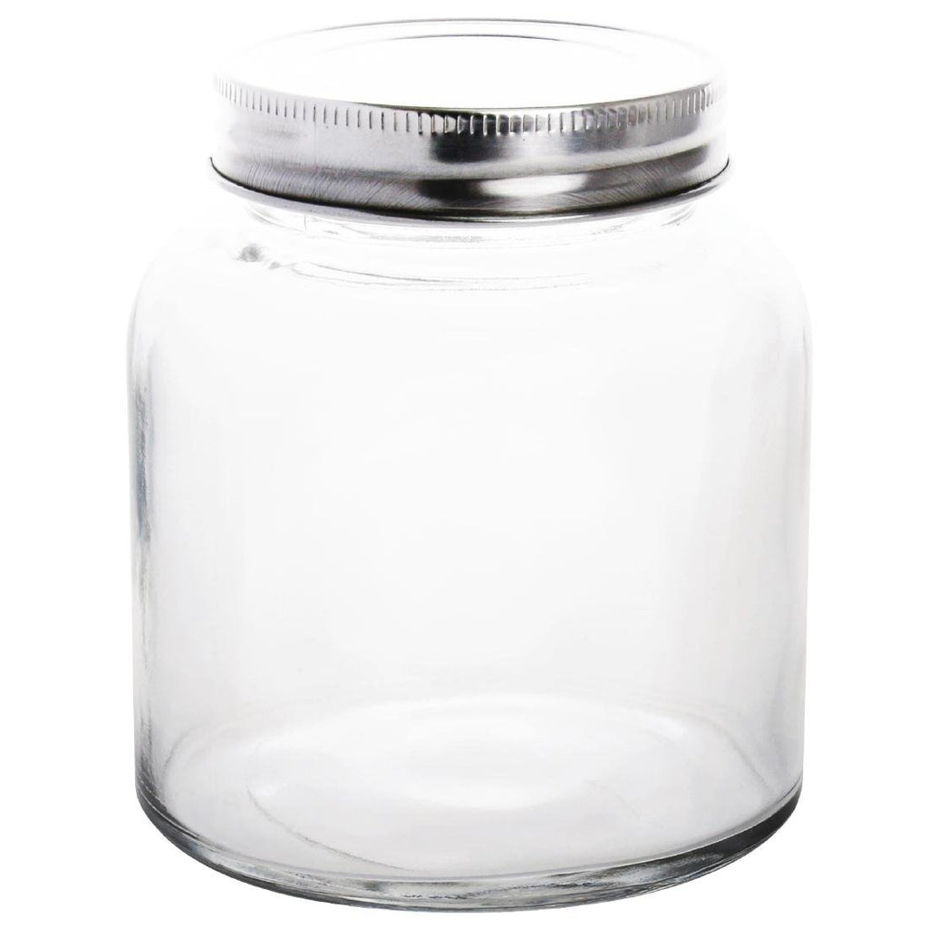 6PCE Vogue Screw Top Preserve Jar 330ml