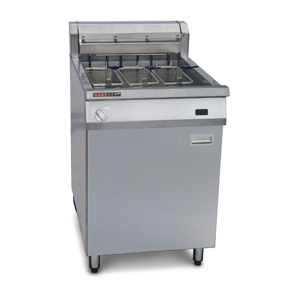 Austheat Freestanding Electric Deep Fryer with Rapid Recovery AF813R
