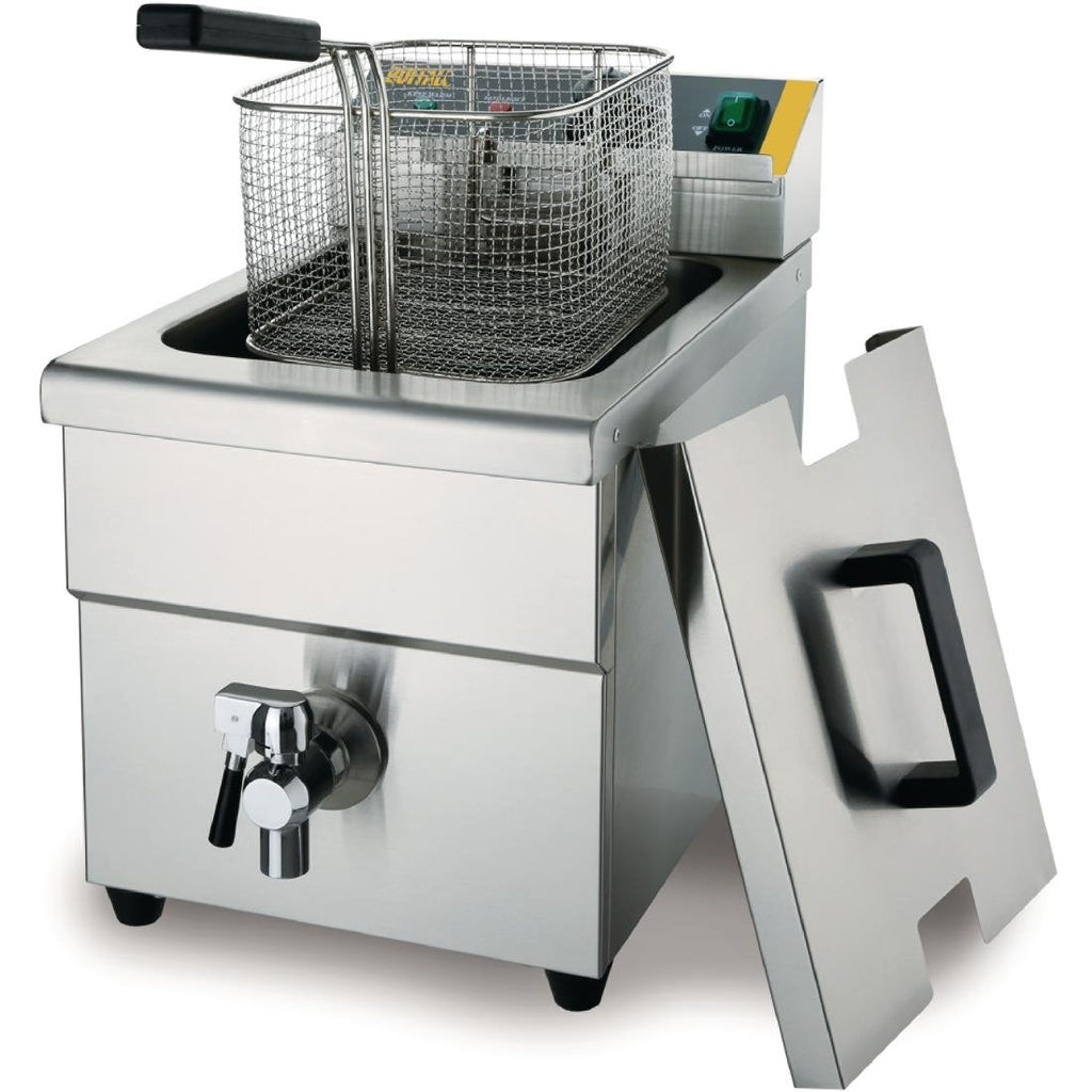 Apuro 7.5L Single Tank Single Basket Induction Fryer
