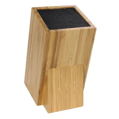 Vogue Wooden Universal Knife Block - icegroup hospitality superstore
