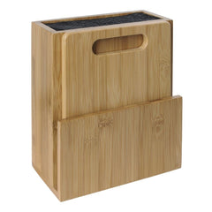 Vogue Wooden Universal Knife Block and Chopping Board - icegroup hospitality superstore
