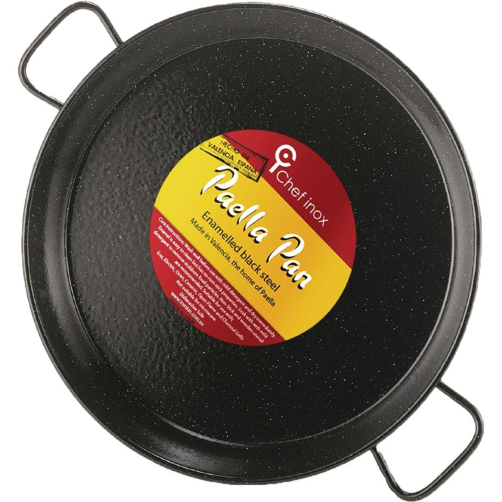 Chef Inox Enamelled Cast Iron Round Pan 40cm