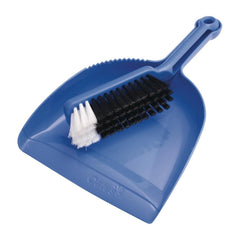 Oates Dustpan & Bannister Set Blue - icegroup hospitality superstore