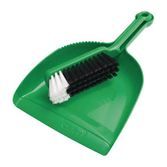 Oates Dustpan & Bannister Set Green - icegroup hospitality superstore