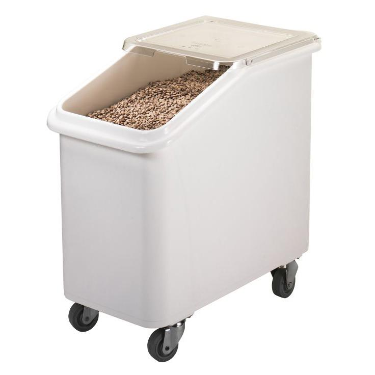 Cambro Slant Top Ingredient Bin 102L White IBS27