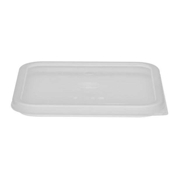 6PCE Camwear Seal Cover Fits Square 5.7, 7.6L Polycarbonate Containers
