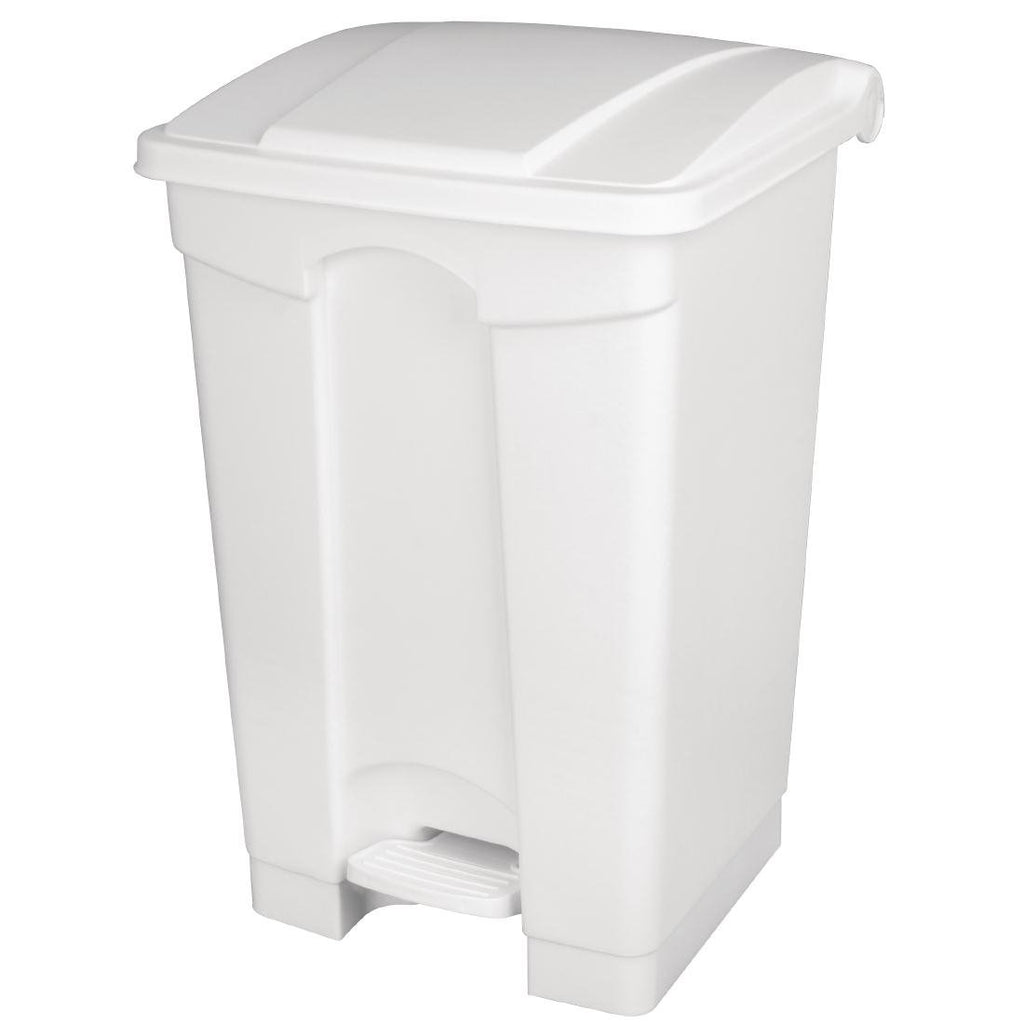 Jantex Kitchen Pedal Bin White 45Ltr