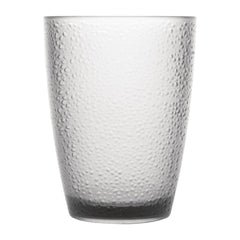 Kristallon Polycarbonate Tumbler Pebbled Clear 275ml - icegroup hospitality superstore