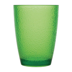 Kristallon Polycarbonate Tumbler Pebbled Green 275ml - icegroup hospitality superstore