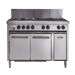 Luus 8 Burner Gas Stove Oven CRO-8B - icegroup hospitality superstore