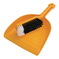 Oates Dustpan & Bannister Set Yellow - icegroup hospitality superstore