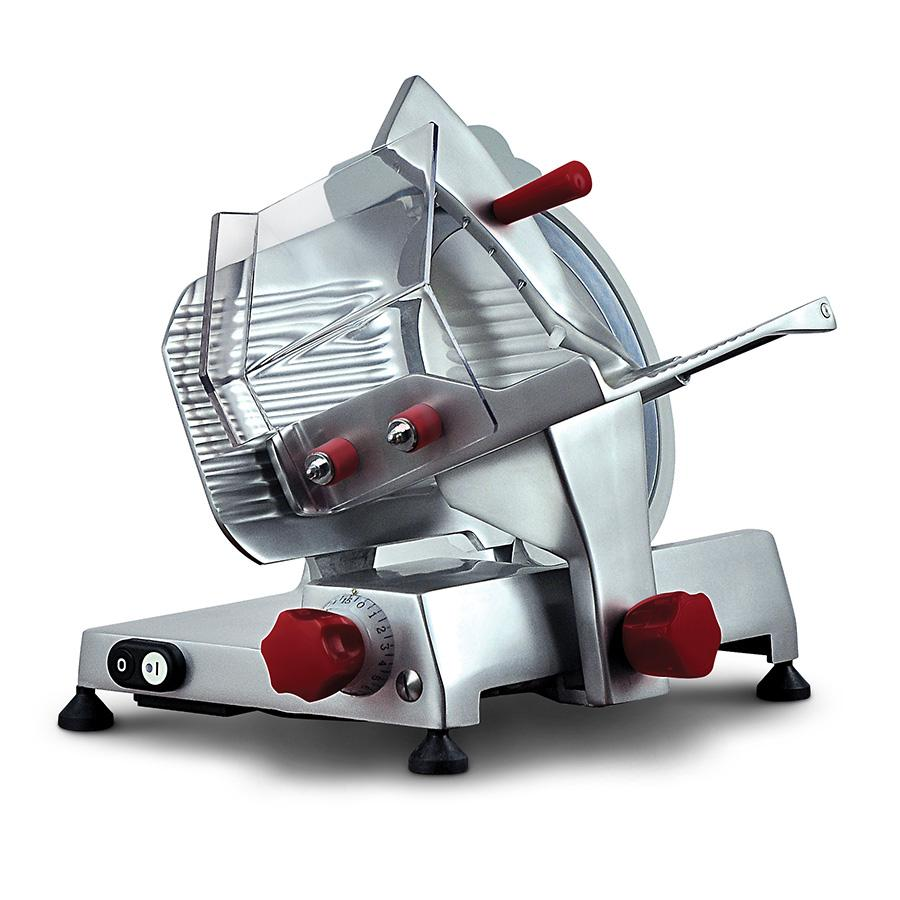 NOAW NS250 Manual Gravity Fed Slicer Medium Duty 250mm Blade