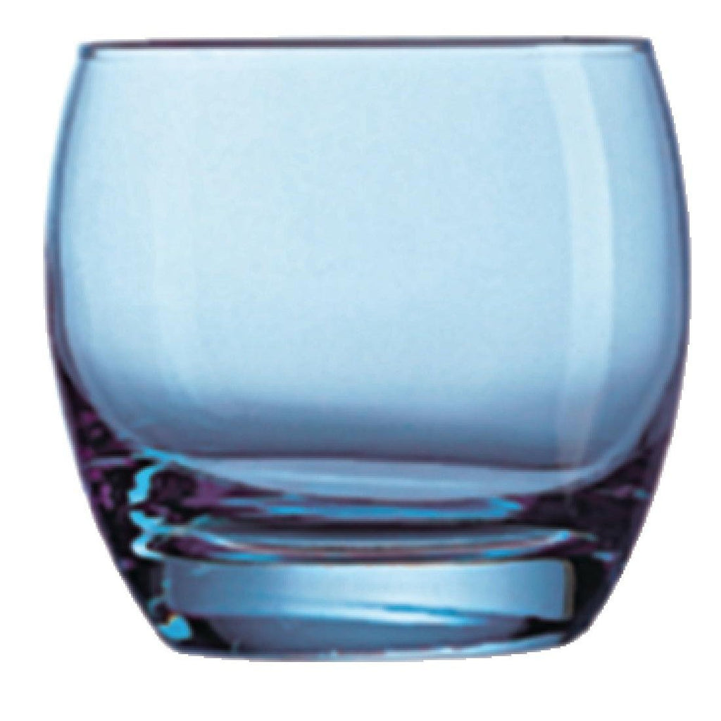 24PCE Arcoroc Salto Tumblers 320ml Ice Blue