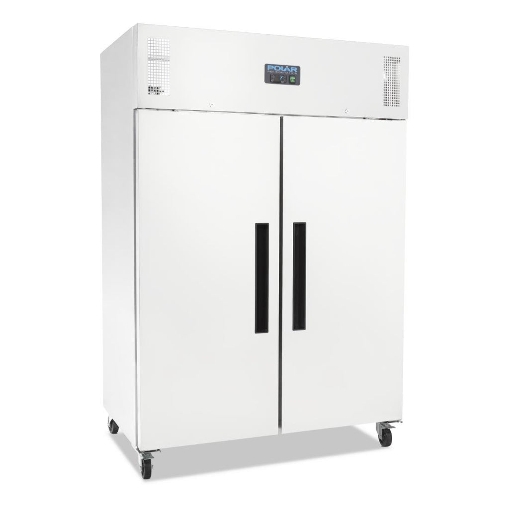 Polar 2 Door 1200L Upright Fridge White G-Series