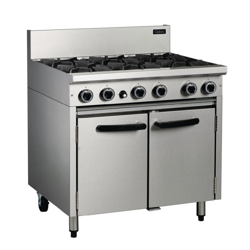 Cobra by Moffat 6 Burner Propane Gas Oven Range CR9D