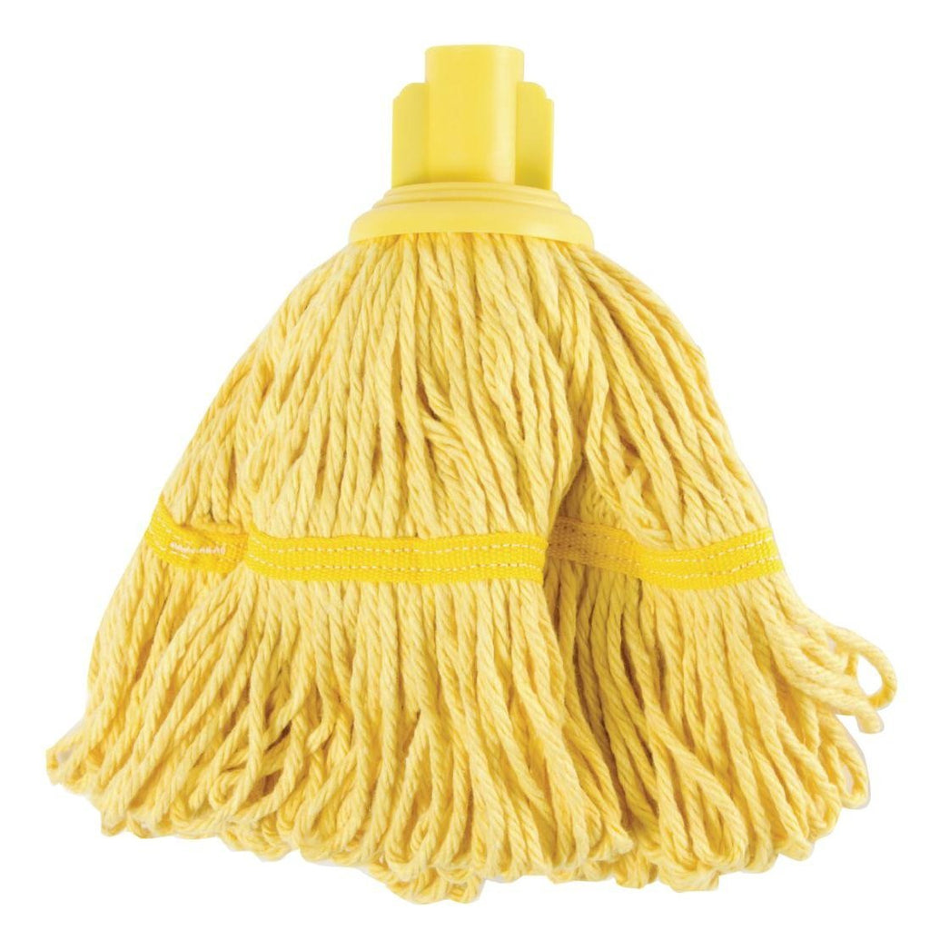 Jantex Bio Fresh Socket Mop Head Yellow