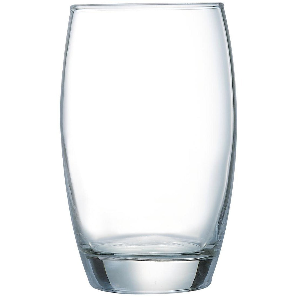 6PCE Arcoroc Salto Hi Ball Glasses 350ml Clear