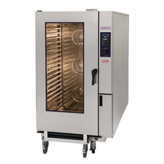 Hobart COMBI 20 x 2/1 or 40 x 1/1 GN Tray Electric Combi Oven HEJ202E - icegroup hospitality superstore