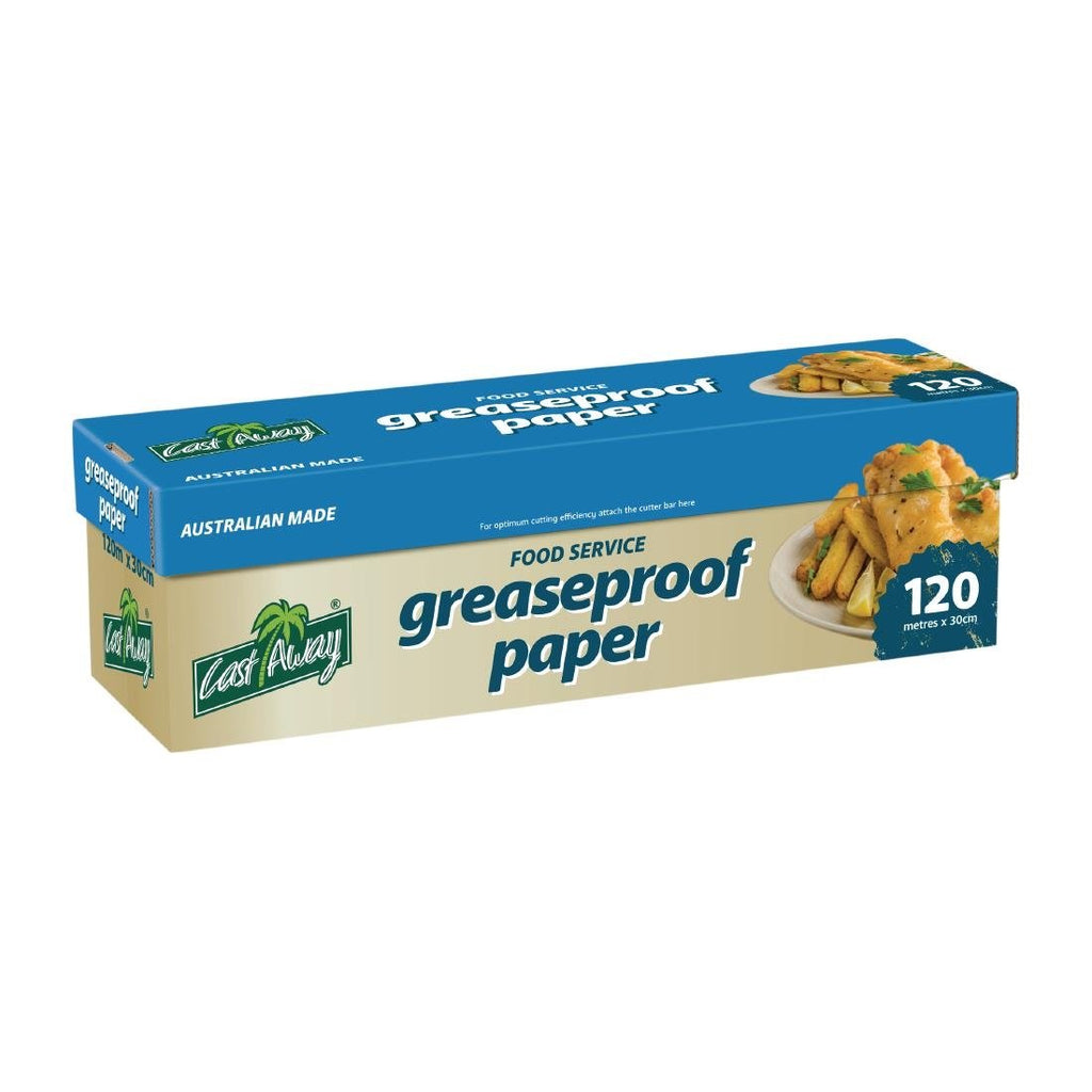 Castaway 120m Greaseproof Paper